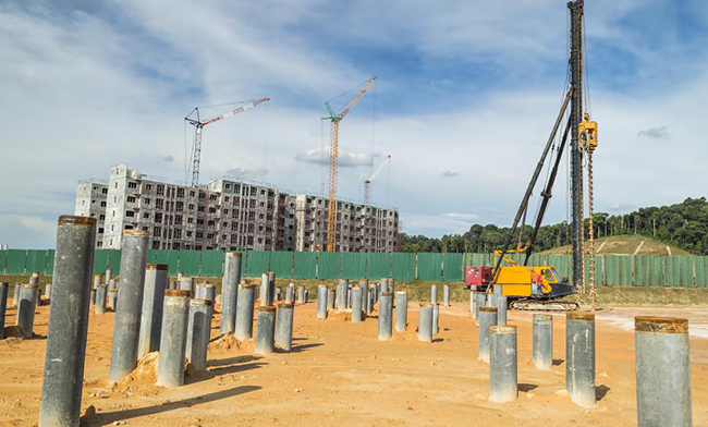 Avantages de Les Pieux de tuyaux pour les fondations profondes