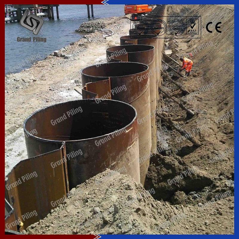 Projets de pieux de tuyaux