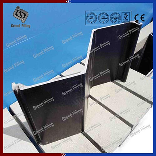 Palplanches en Aluminium