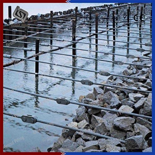 Construction de quai Hedland port, Australie